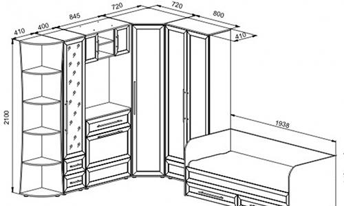 Шкаф-купе своими руками (пошаговые фото, инструкция и чертеж) 100