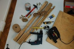 Инструменты для изготовления столика