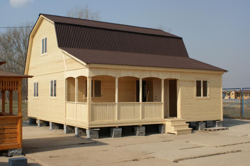 Каркасный дом своими руками строил один 423