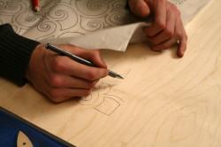 Перенос рисунка на фанеру