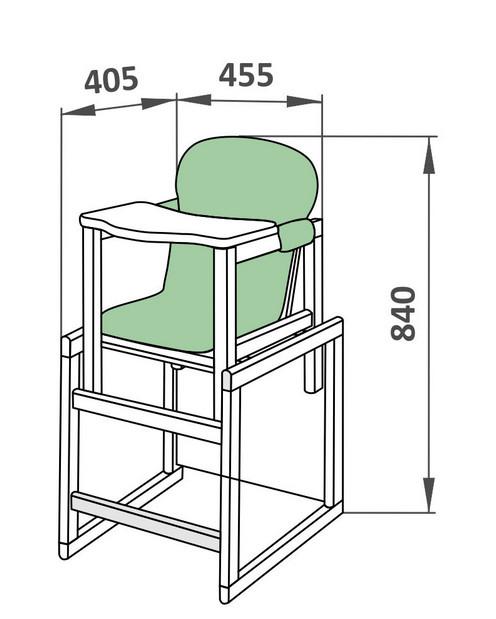 Как сделать стул стол для кормления своими руками 81