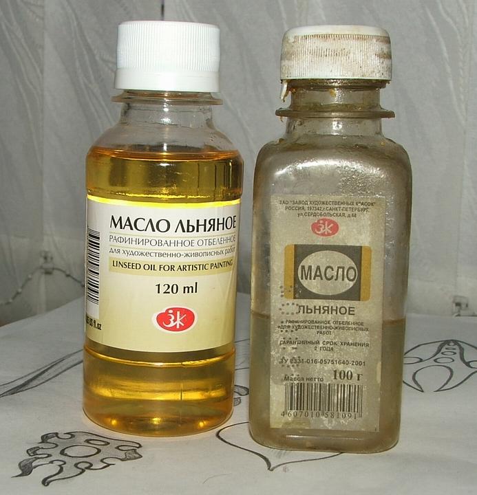 Ручки для резцов льняное масло