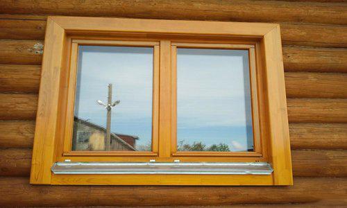 Деревянная рама для окна