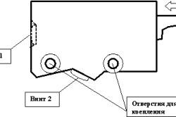 Элементы крепления навесных шкафов