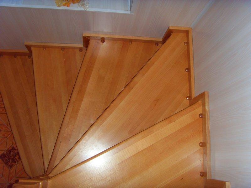 Лестницы винтовые из дерева своими руками