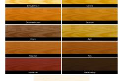 Варианты лака с естественными оттенками цвета