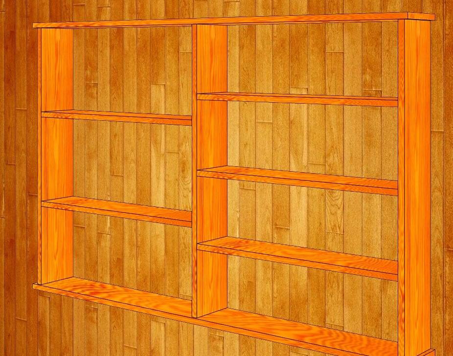 Как сделать полочку деревянную