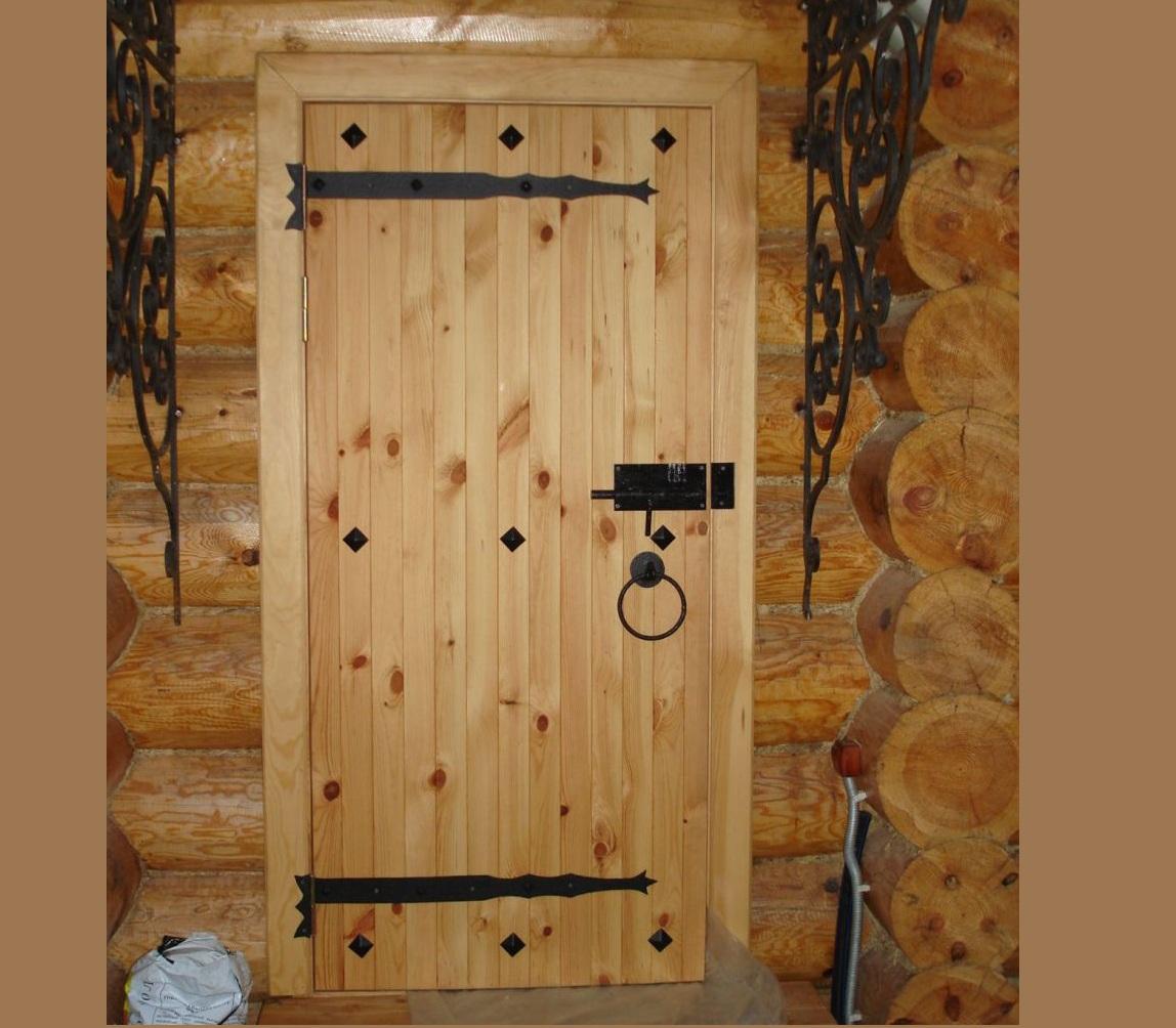 Отделка деревом металлической двери своими руками 97