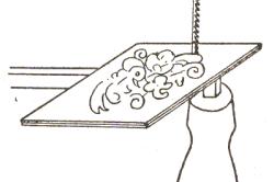 Направление зубьев пилки