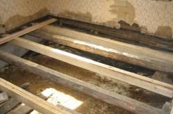 Лаги под деревянный пол