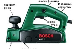 Схема электрорубанка Bosh