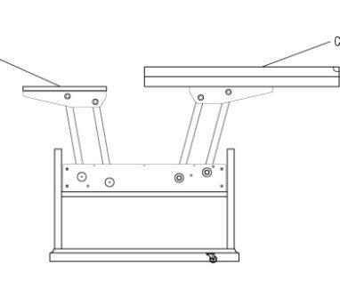 93Как сделать раздвижной деревянный стол
