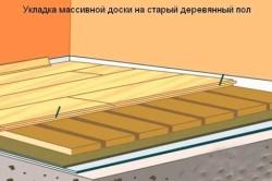 Укладка фанеры на пол без клея