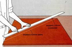 Схема изготовления полки из ДСП
