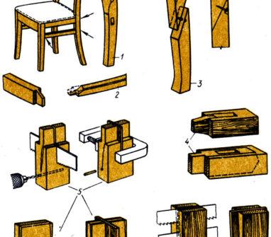 Как выполнить ремонт деревянных стульев своими руками?