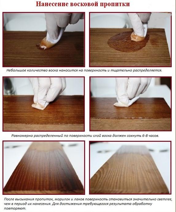 Как сделать пропитку для древесины своими руками