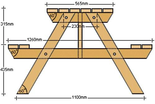 Деревянный стол своими руками чертежи и схемы фото