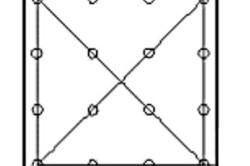Схема крепления листа фанеры